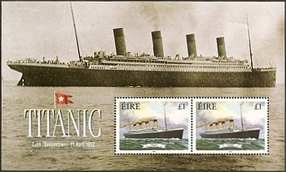 Titanic Stamps from Ireland