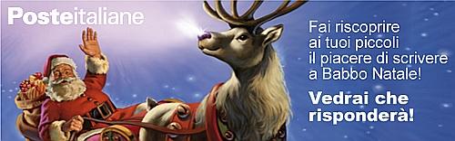 Babbo Natale sul sito di Poste Italiane