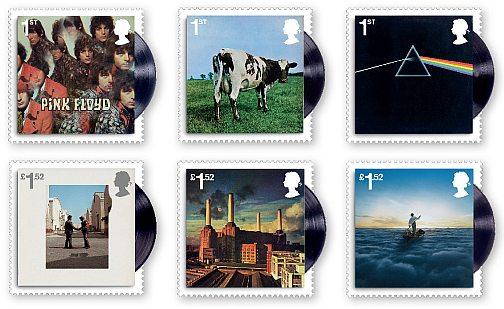 I Pink Floyd sui francobolli britannici