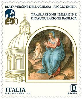 francobollo Beata Vergine della Ghiara